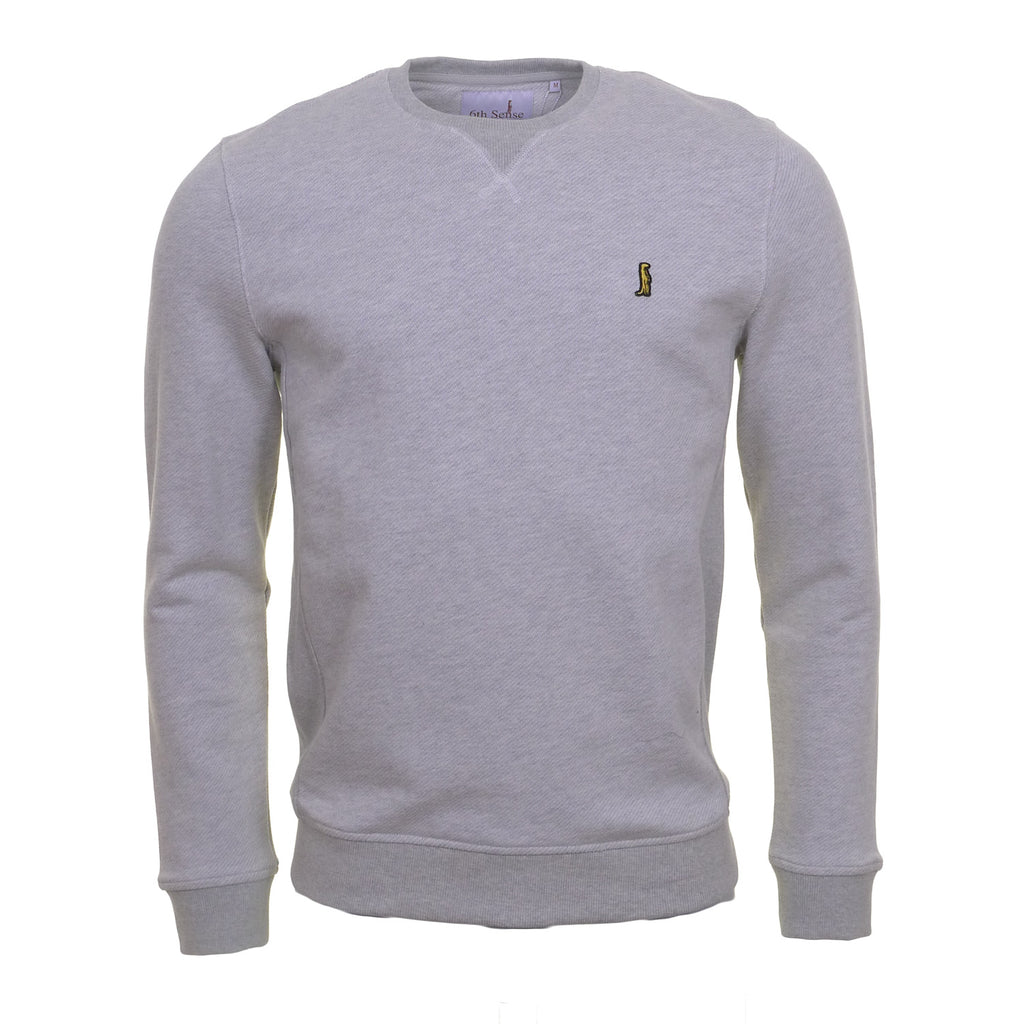 Heritage Two Tone Grey Sweat by 6th Sense Heritage