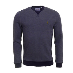 Heritage Two Tone Navy Sweat by 6th Sense Heritage