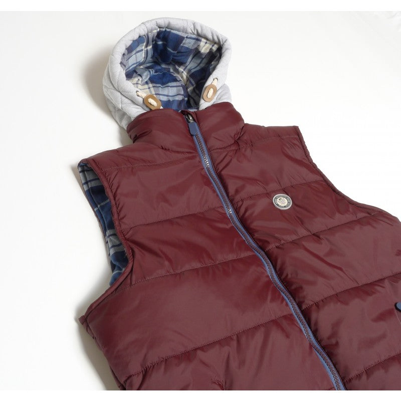 Hooded Gilet by Diesel Youths
