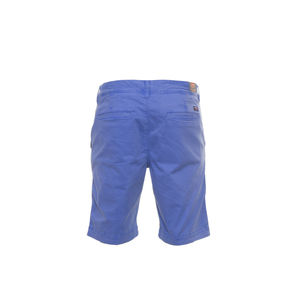 International Chino Blue Shorts by Superdry