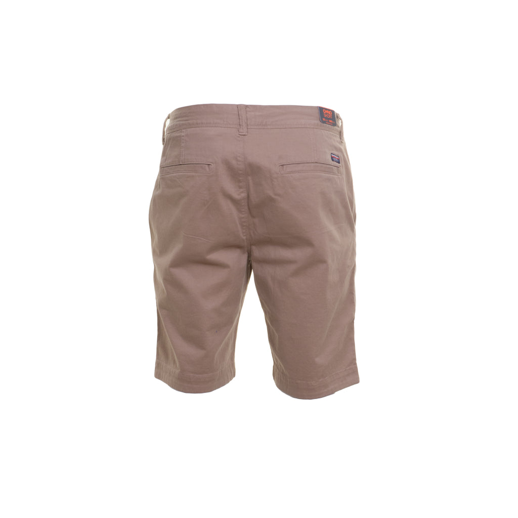 International Chino Beige Shorts by Superdry