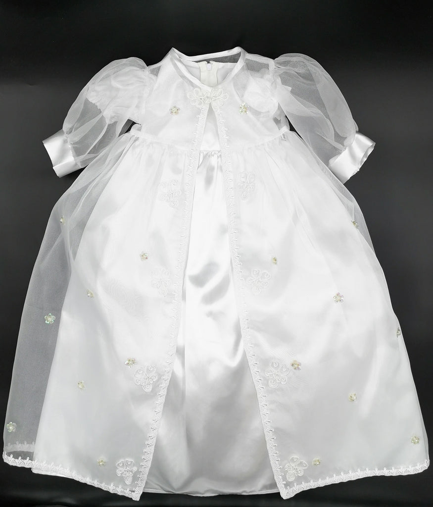 Jaan B030 Girls Christening Gown