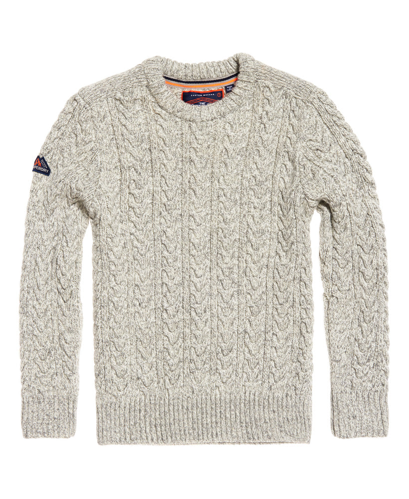 Jacob Crew Concrete Knit by Superdry