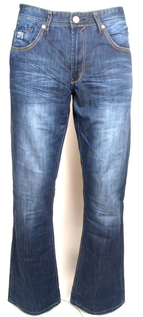 Men's Jay Flare Jeans By Outrage