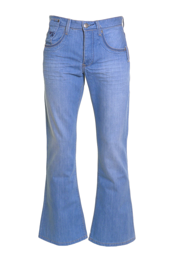 Men's Jayden Light Wash Flare Jean By Kingpin