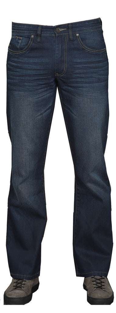 Kingpin Jayden 326 Dark Denim Flare Jean