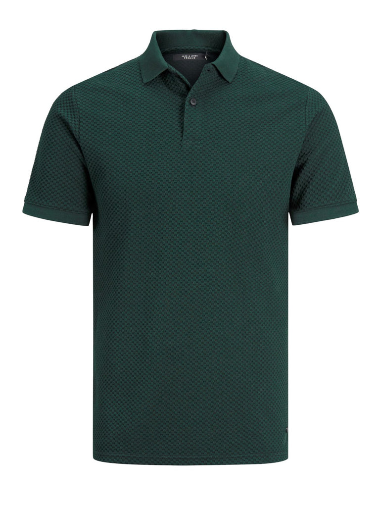 JPRChris Short-sleeved Scarab polo shirt