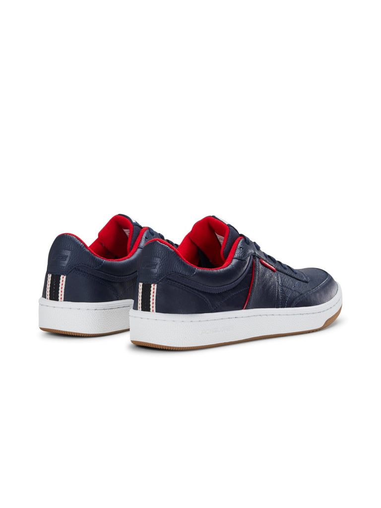 Bradley Navy with Red detailing Trainer.