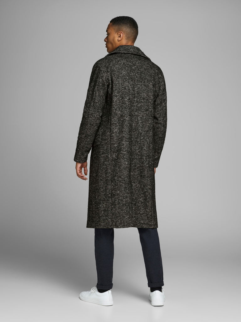 Falcon Wool Long Coat