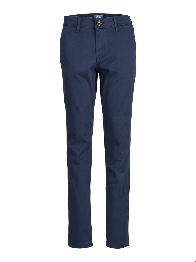 Marco Bowie Junior Navy Tapered Fit Chino