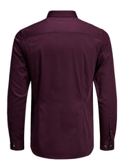 Parma Color Super Slim Long Sleeve Shirt