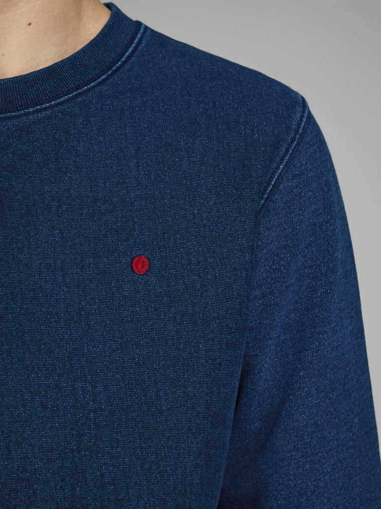 RDD Sweat Indigo Crew Neck