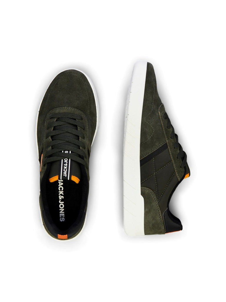 Hunter Suede Olive Night Runner