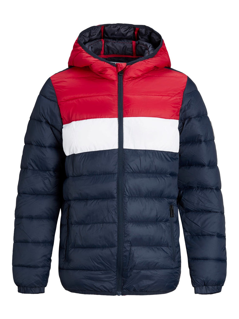 Magic Puffer Tango Red Hooded Jacket