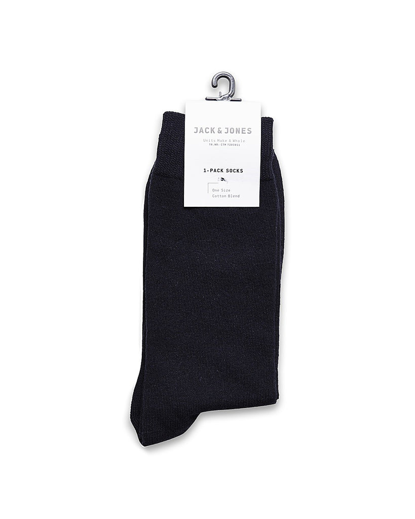 JJJens Basic socks by JACK & JONES - One size - Ribbed cuffs Navy
