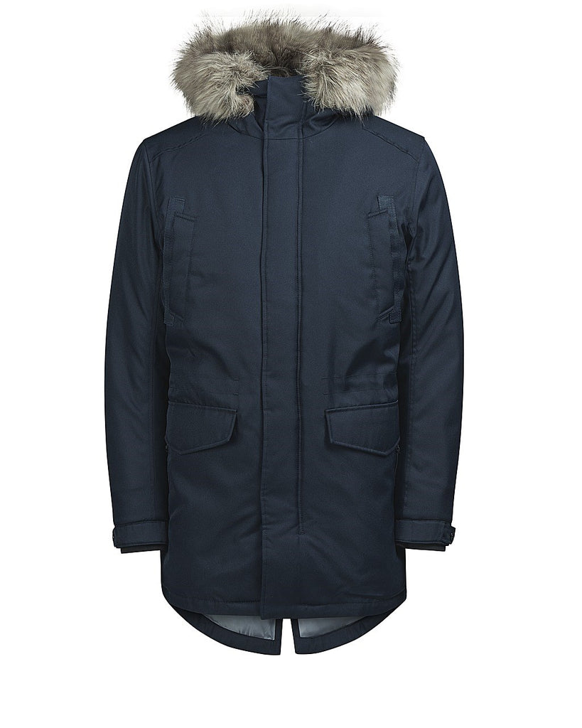 Land Navy Parka By Jack Jones Core