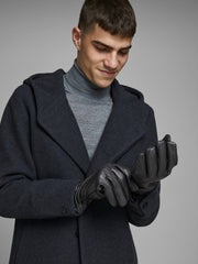 Montana Black Leather Gloves