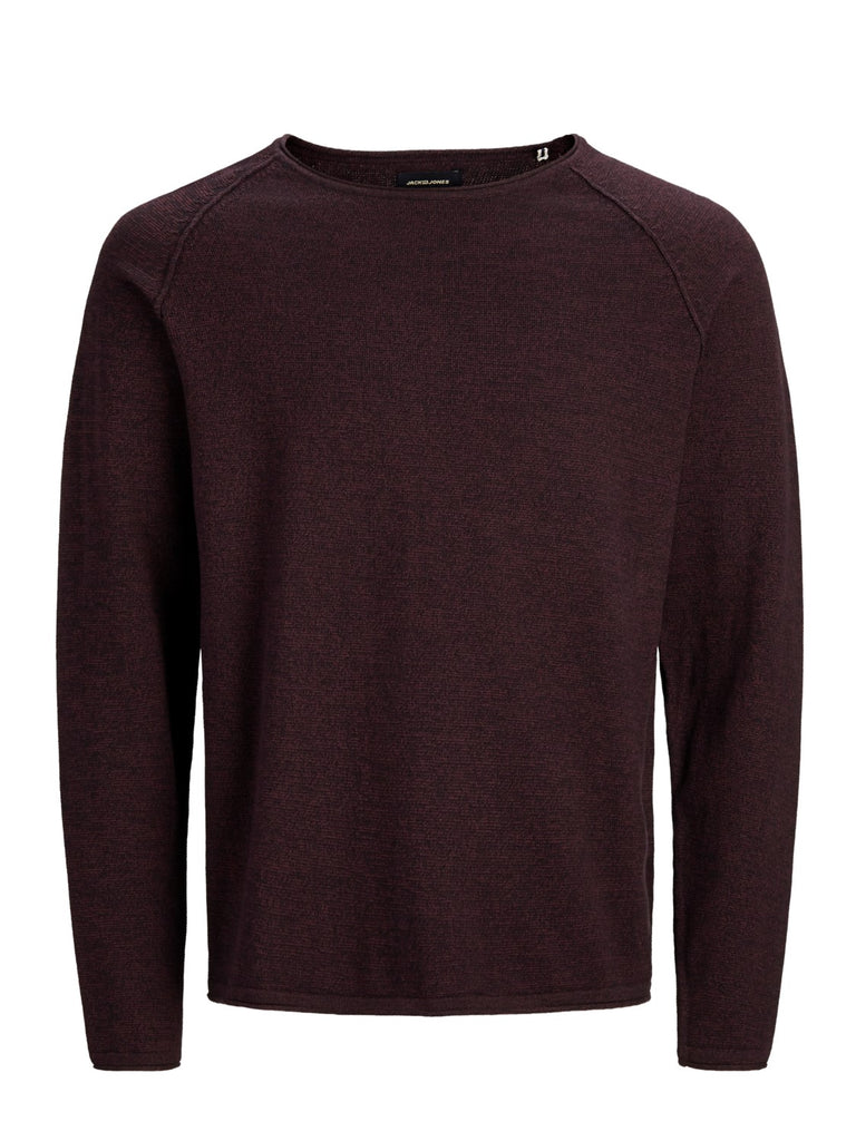 Union Crew Neck Long Sleeve Port Knit