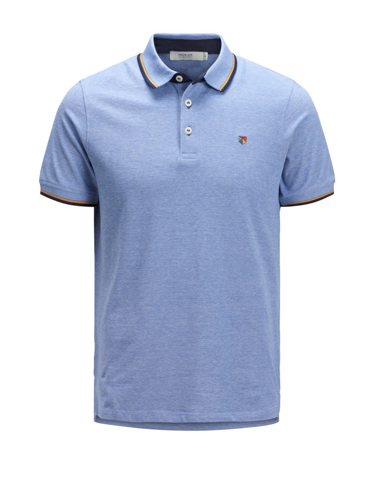 Short-sleeved Paulos polo shirt Bright Cobalt