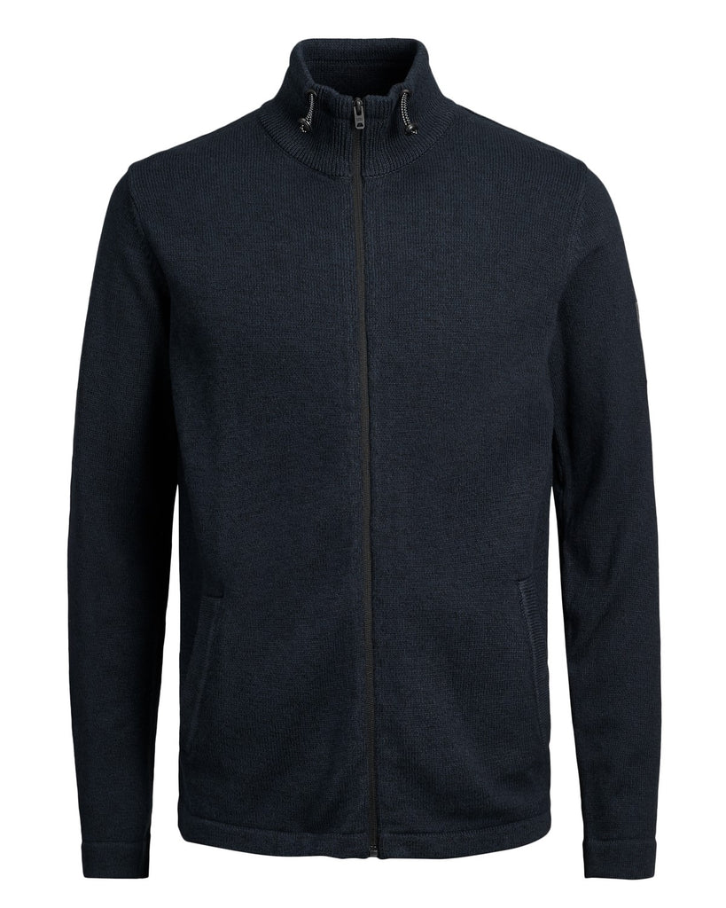 Jack Jones Core JCOBishop High Neck Cardigan Black