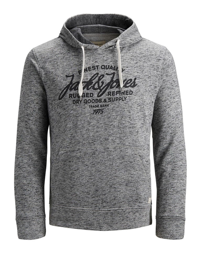 Panther Sweat Over The Head Grey Hoodie