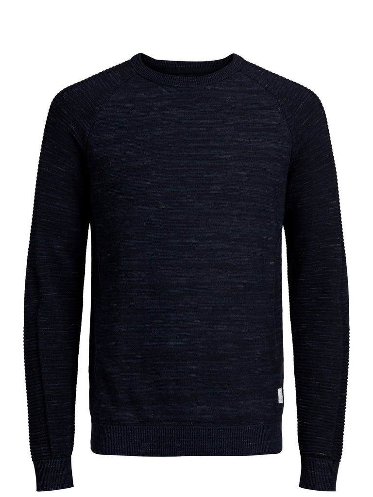 JCOFresno Crew Knit by Jack&Jones Sky Captain
