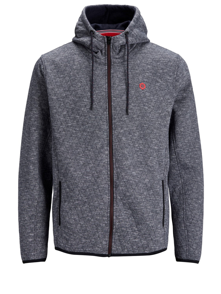 JCOQuint Zip Up Sky Captain Hoodie by Jack & Jones Core