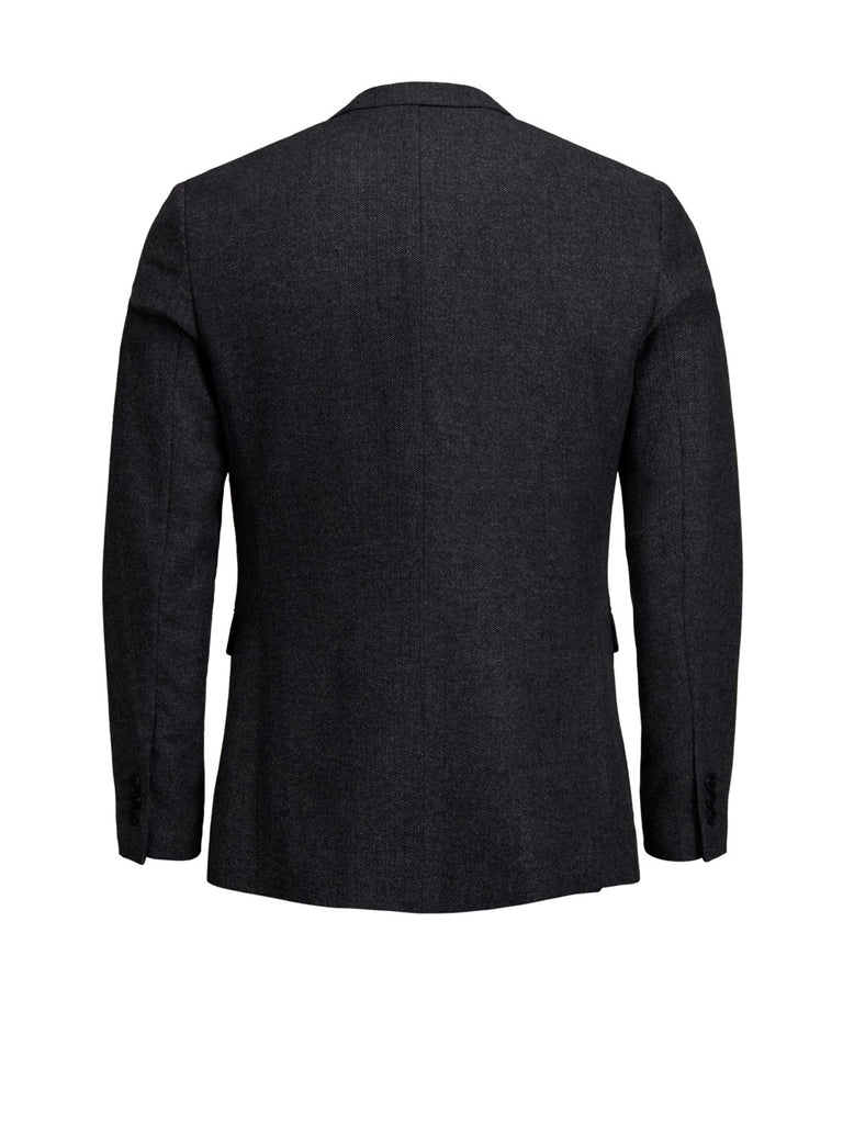 Jack Jones Premium Amsterdam Formal Dark Grey Blazer Back