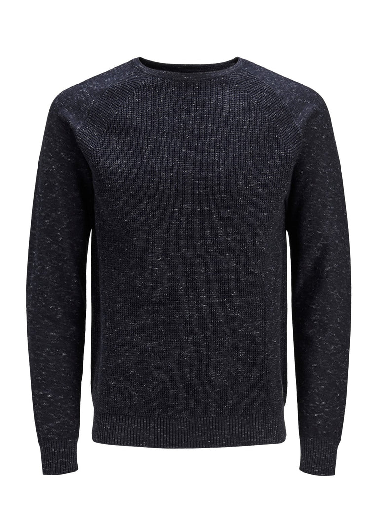 Jack & Jones Core JCODenim Knitted Crew Neck Sky Captain Jumper