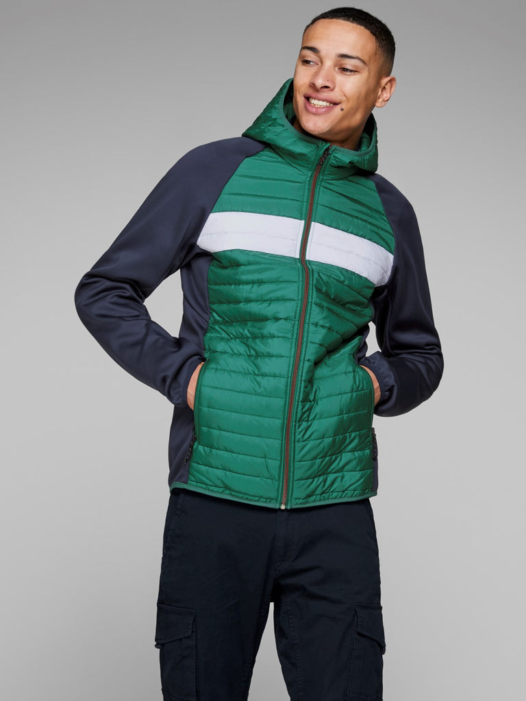 Evergreen Multiquilted Jacket