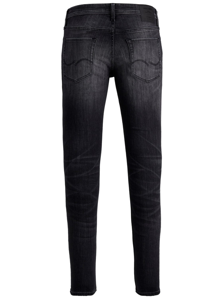 JJITom 817 Black Spray on Skinny Jeans By Jack & Jone
