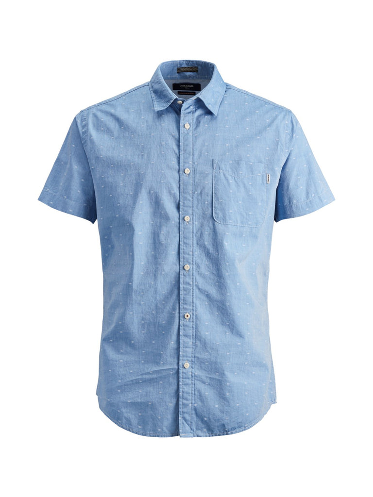 JPRJackson Short Sleeve Cashmere Blue Shirt