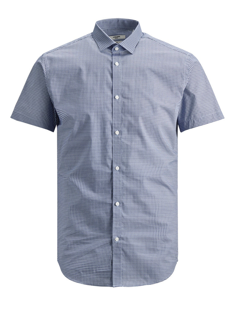 4a811208091 Blackburn Short Sleeve Shirt Estate Blue