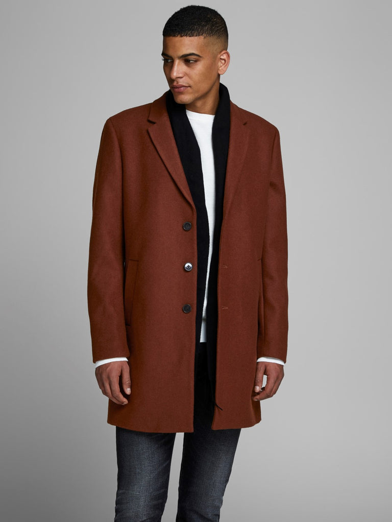 Moulder Wool Cappuccino three quarter length Coat