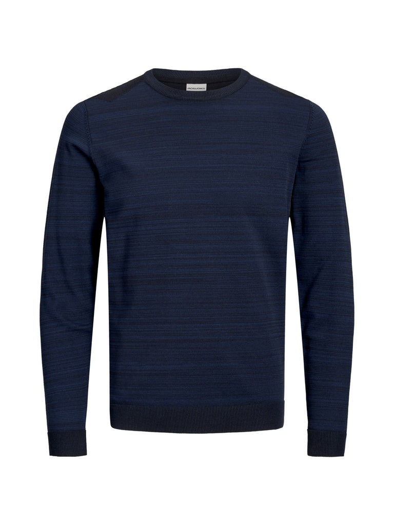 JCOElm Crew Neck Sky Captain Twisted Knit