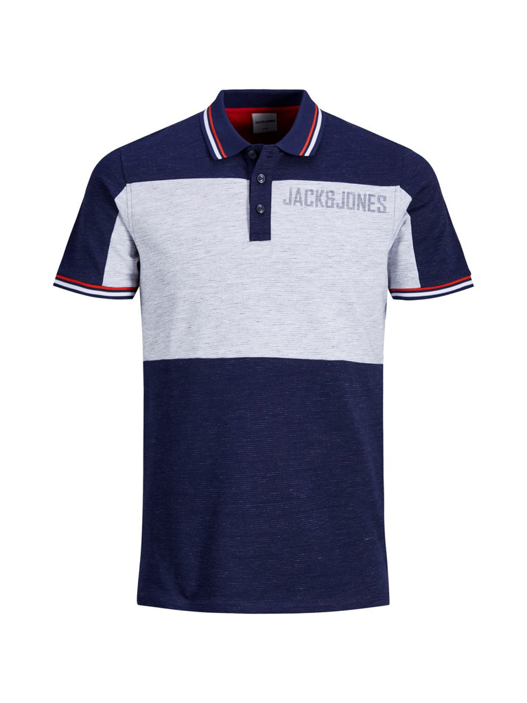 JCOStafford Short Sleeve Polo Blue