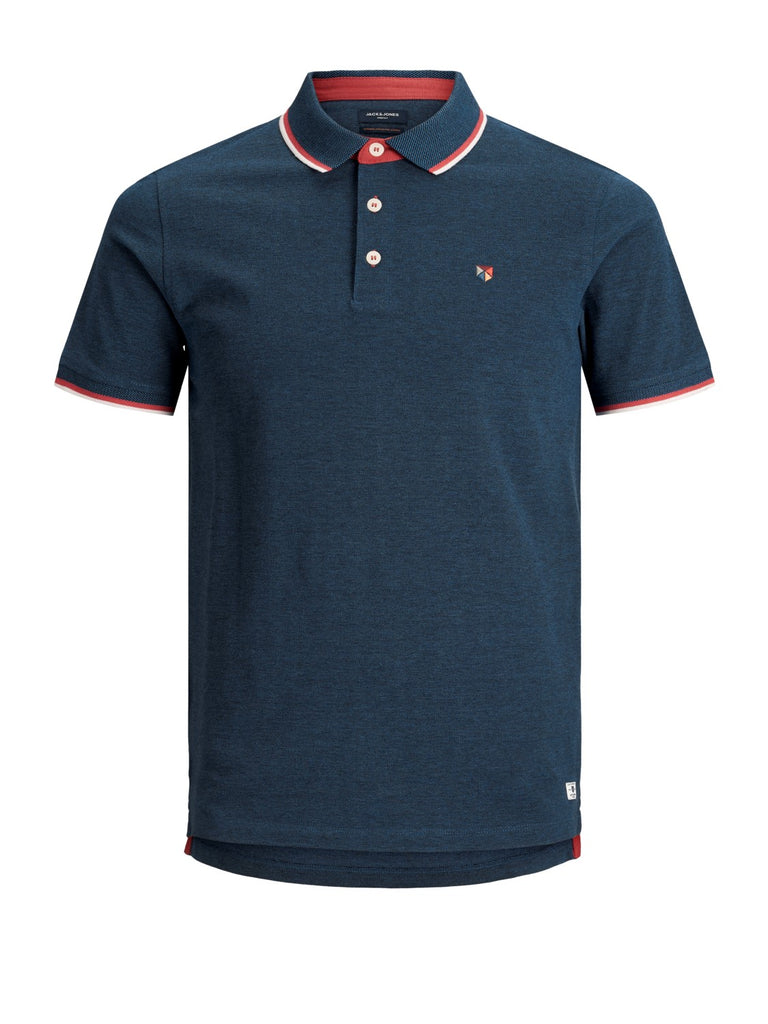 Short-sleeved Paulos polo shirt True Navy