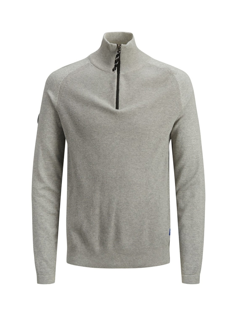 JORKlover High Neck Light Grey Knit.
