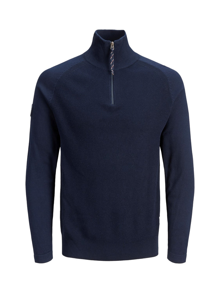 JORKlover High Neck Navy Knit.