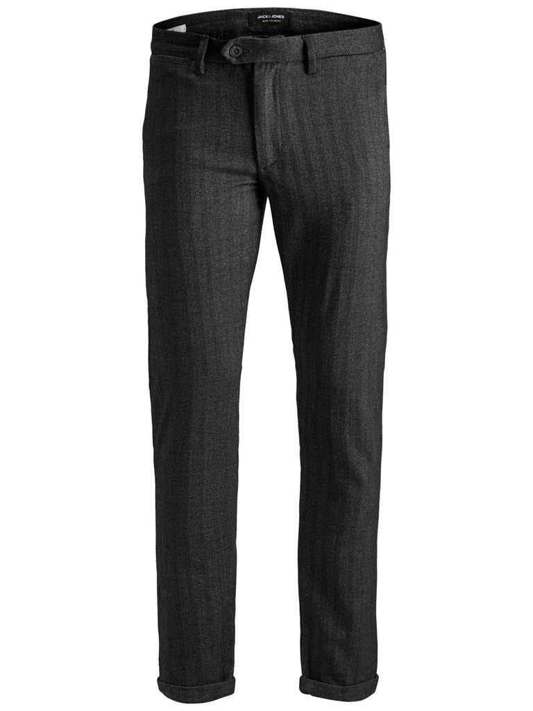 Marco Connor 769 - Low rise, slim thigh, slim knee, super tight leg opening , Herringbone Fabric