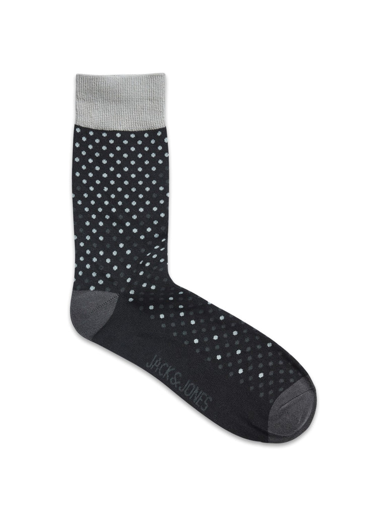 JACGradient Dot Detail Raven Socks