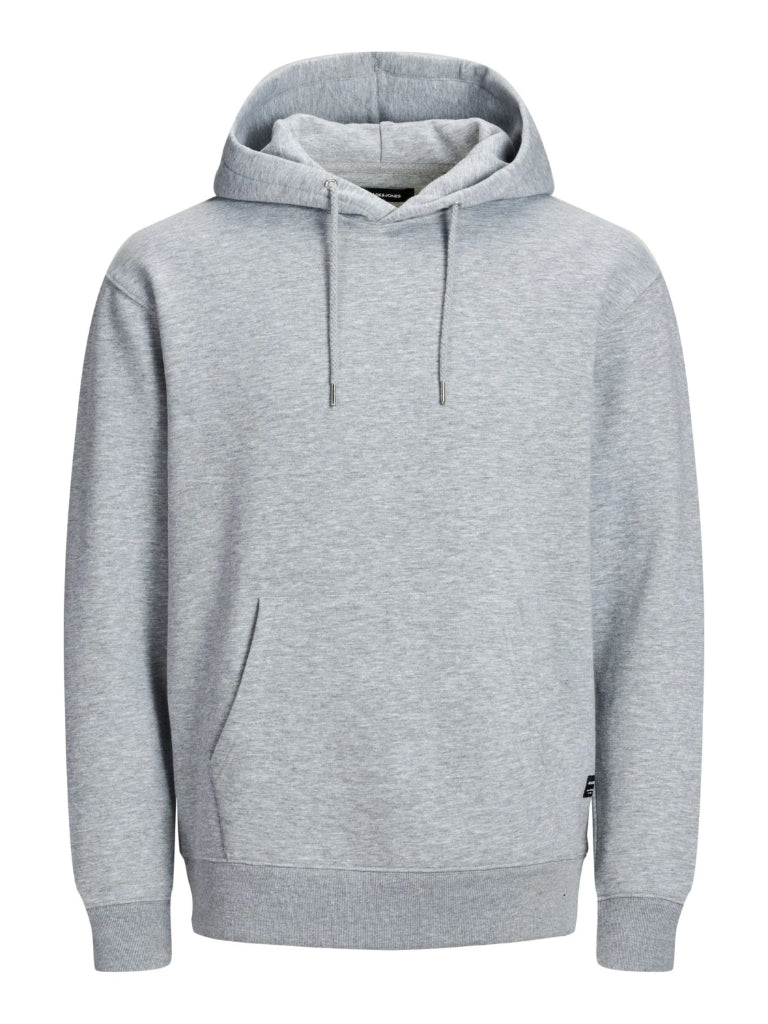 Soft Sweat Light Grey Over the Head Hoodie