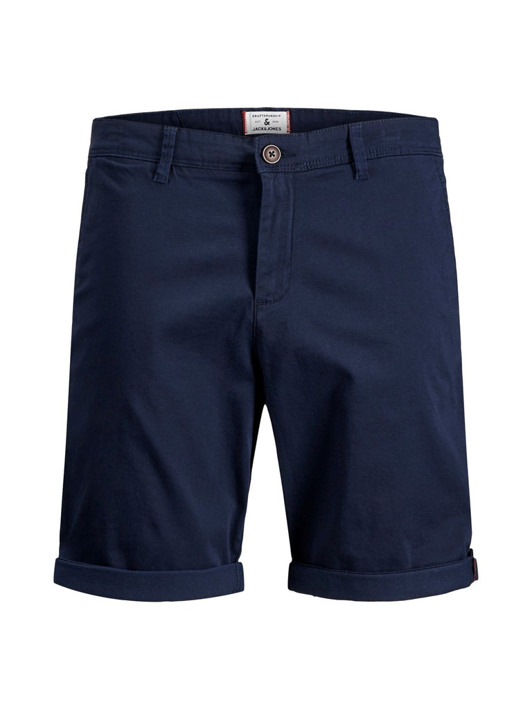 Jack and Jones Mens Bowie Navy Shorts
