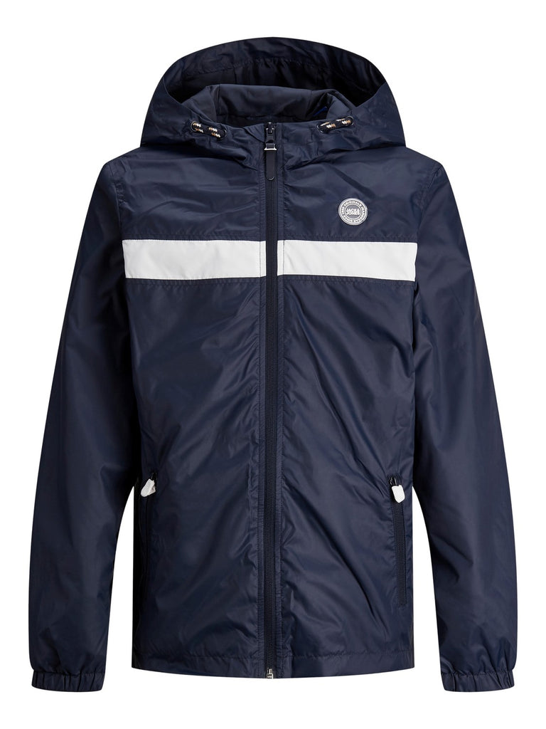 Cott Light Navy Hooded Junior Jacket