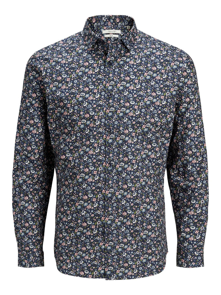 Blackpool All Over Print S20 Navy Shirt