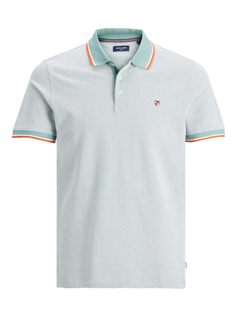 Bluwin Mint Short Sleeve Polo