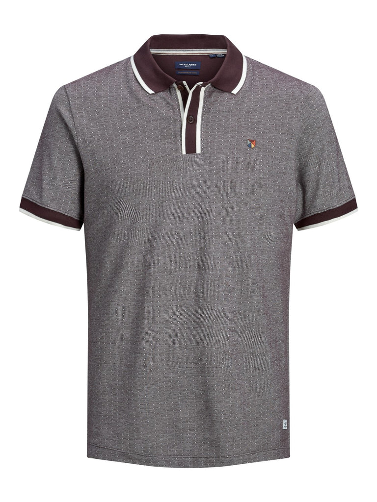 Milton Polo Short-sleeved fudge polo shirt