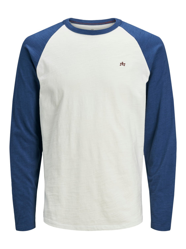 Cooper Long sleeve Denim Blue Tee