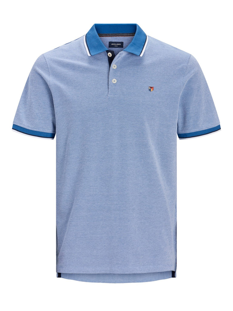 Bluwin Blue Short Sleeve Polo