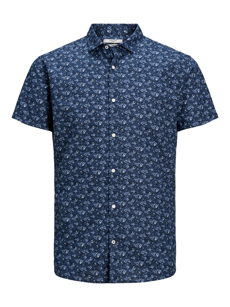 Summer Blackburn Navy Blazer Short Sleeve Shirt